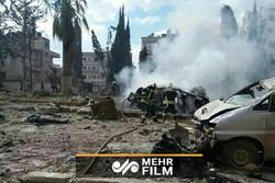 انفجار در ادلب