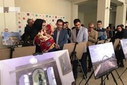 Photo exhibit showcasing Tehran's attractions