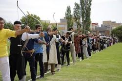 کمانداران سنتی آذربایجان شرقی سوم شدند