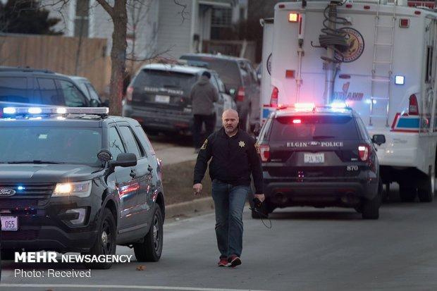 تیراندازی در ایلینوی آمریکا