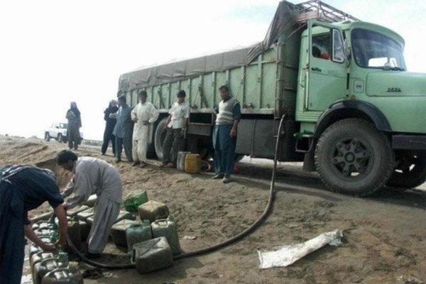 غافلگیری قاچاقچیان سوخت قاچاق در شهرضا