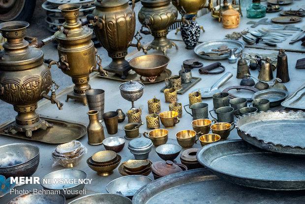 بازار خنزر پنزر فروشی در اراک
