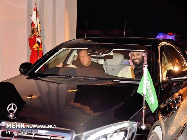 بن سلمان في باكستان