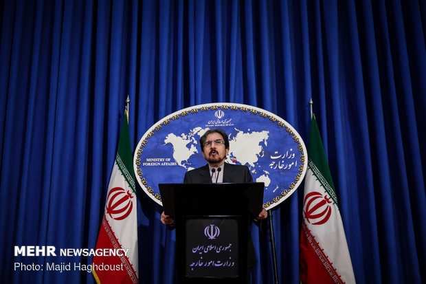Iran strongly condemns Saudi Arabia, Bahrain's stance on IRGC