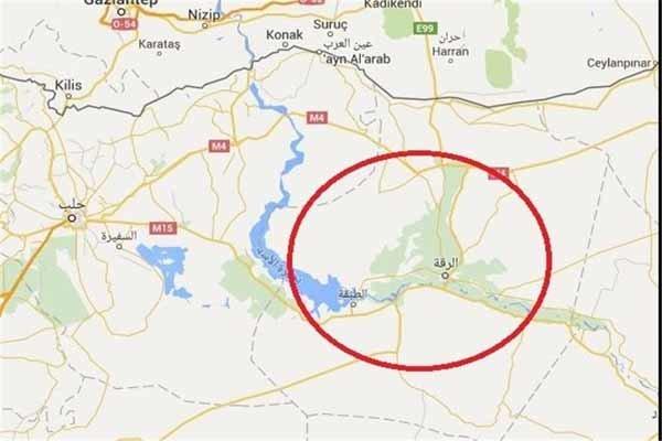 ورود نظامیان ترکیه به مناطقی از حومه شمالی الرقه