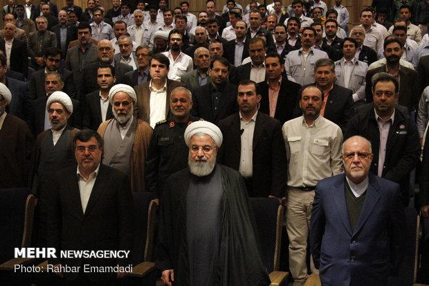 Inauguration of phase III of Persian Gulf Star Refinery