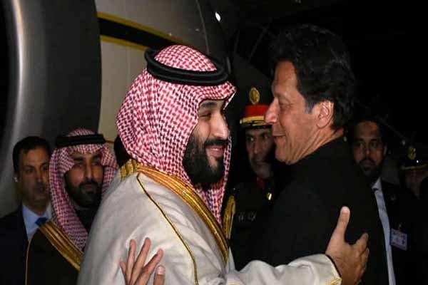 جملاتی که بنسلمان درباره عمران خان و پاکستان گفت