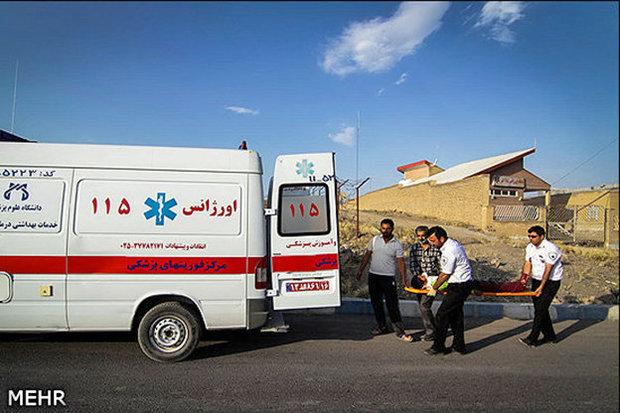 ۹ حادثه ترافیکی شرق استان سمنان ۲۱ مصدوم برجای گذاشت