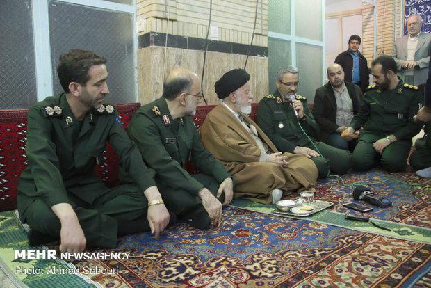 سفر سردار غلامحسین غیبپرور رئیس سازمان بسیج مستضعفین به سمنان