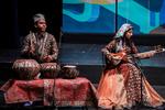 İran'daki müzik şöleninin kapanış töreninden kareler