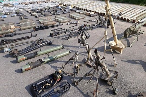US, Israeli weapons left behind by terrorists found in Damascus