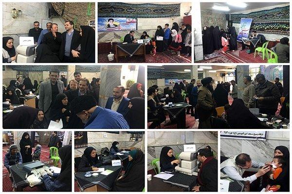 اعزام تیم های درمانی به مناطق کم برخوردار استان تهران
