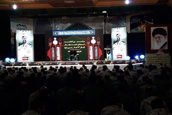 مراسم گرامیداشت شهدای حادثه تروریستی زاهدان برگزار شد