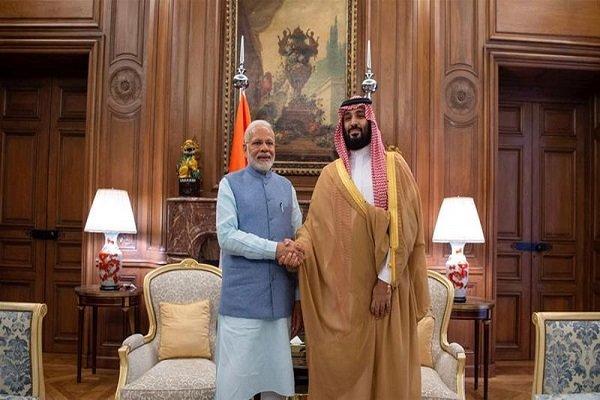 تجارت، سرمایه گذاری و مسائل نظامی محورهای مذاکرات بن سلمان در هند