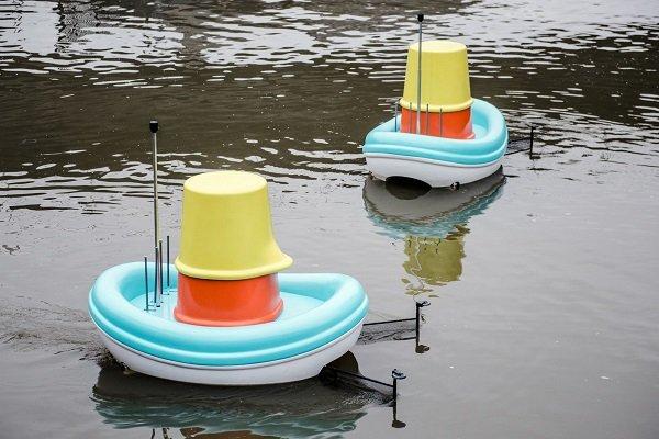 قایق هوشمند پاکسازی رودخانه هم از راه رسید