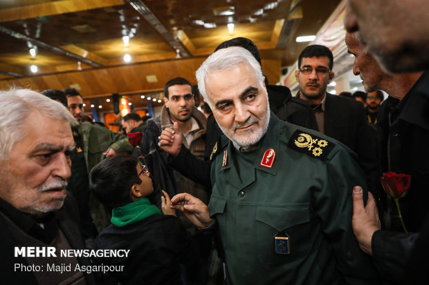 IRGC holds ceremony to commemorate 'Martyrs of Security'