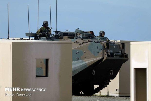 آموزش نظامیان ژاپنی در آمریکا