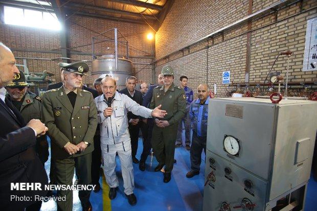 افتتاح 5 مشاريع صناعية وبحثية متطورة بمجال القدرات الدفاعية