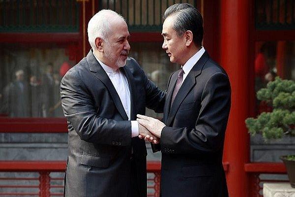 ایرانی وزیر خارجہ کی چین کے وزیر خارجہ سے ٹیلفون پر گفتگو