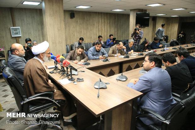 نشست خبری حجتالاسلام عبدالله حاجی صادقی نماینده ولی فقیه در سپاه پاسداران