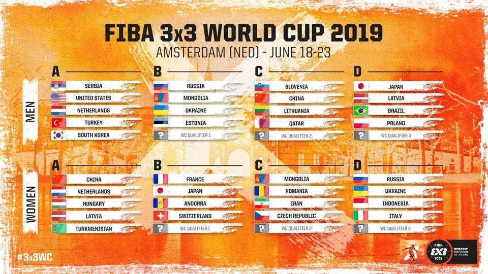 Iran's women's learn fate at FIBA 3x3 World Cup