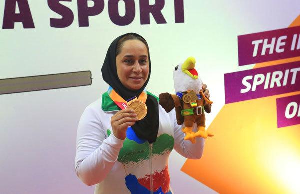 Iran's para shooter Javanmardi wins gold at Al Ain 2019