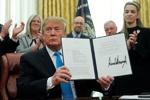 ترامپ دستورالعمل تشکیل نیروی فضایی آمریکا را امضاکرد