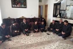 رئیس پلیس پیشگیری ناجا با خانواده شهید «جابر بیرانوند» دیدار کرد