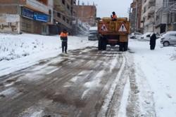 امکانات برف روبی فریدونشهر با وسعت شهر همخوانی ندارد