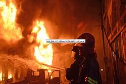 حریق گسترده در پایتخت بنگلادش/ ۱۲۰ نفر کشته و زخمی شدند