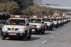 اکیپ های راهداری در استان قزوین در آماده باش کامل هستند