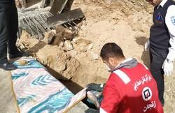 کارگر ساختمانی در زنجان بر اثر ریزش دیوار ساختمان فوت کرد