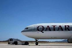 فرود اضطراری هواپیمای قطری در فرودگاه خارطوم