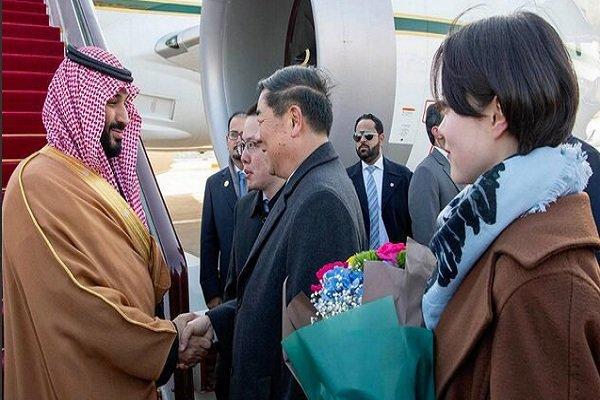Saudi Crown Prince Mohammed bin Salman arrives in China