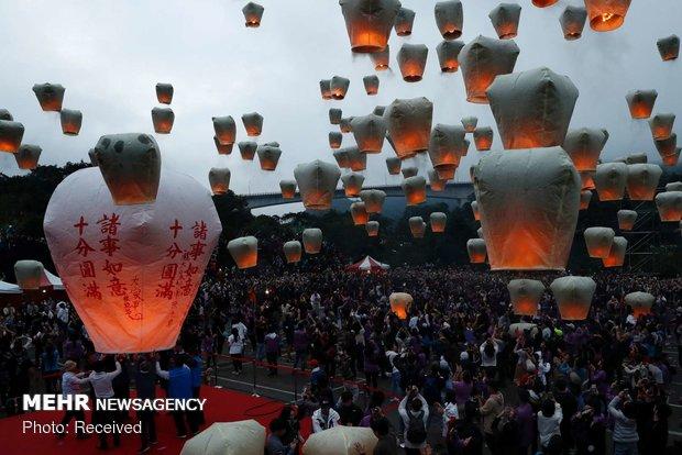 جشنواره فانوس در شرق آسیا