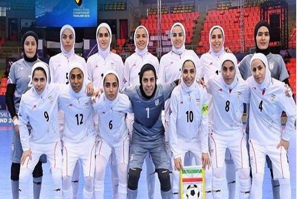 فوتسال زنان ایران در آرزوی رسیدن به «۲۰ میلیون» ۱۳ را به در کرد!
