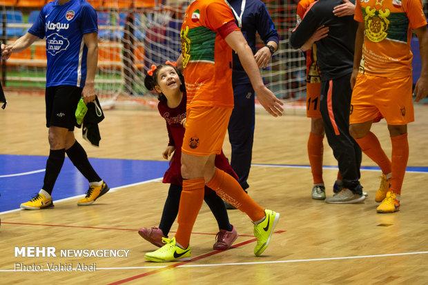 دیدار تیم های فوتسال مس سونگون و سوهان محمد قم