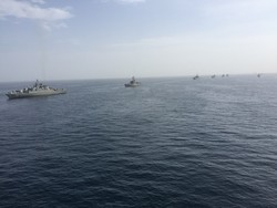 Iran's large-scale naval drill kicks off in Sea of Oman