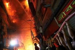 بنگلہ دیش میں کثیر المنزلہ عمارت میں آگ لگنے سے 19 افراد ہلاک