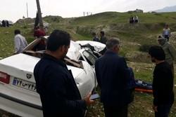 بیاحتیاطی خودروی سمند حادثه آفرید/ راننده پژو دچار شوک شد