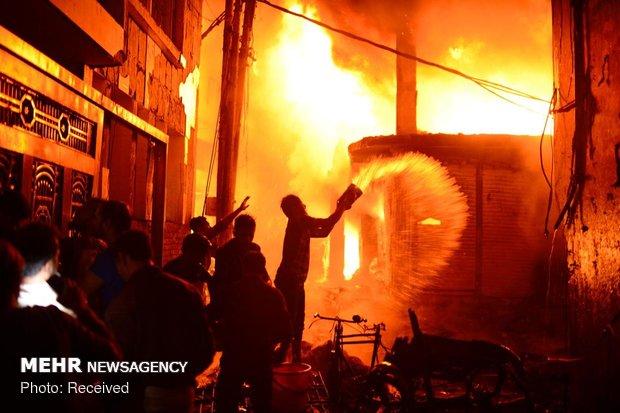 آتش سوزی مرگبار در بنگلادش