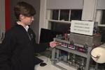 یک نوجوان ۱۴ ساله راکتور هسته ای ساخت!