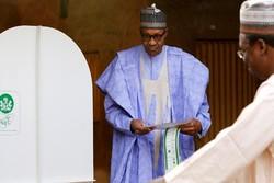 پیشتازی رئیس جمهوری کنونی نیجریه در انتخابات ریاست جمهوری