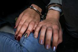 دستگیری سارق زن در پایانه مرزی مهران