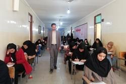 ۱۸ هزار و ۶۲۸ داوطلب کنکور سراسری در زنجان به رقابت می پردازند