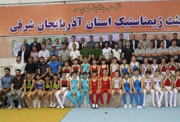 آزمون سطح بندی ژیمناستیک در تبریز آغاز شد