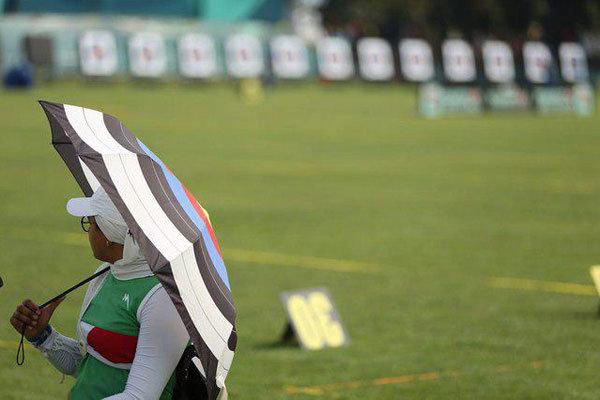 هم تیمی شدن زهرا نعمتی با یک آمریکایی در مسابقات آزمایشی المپیک
