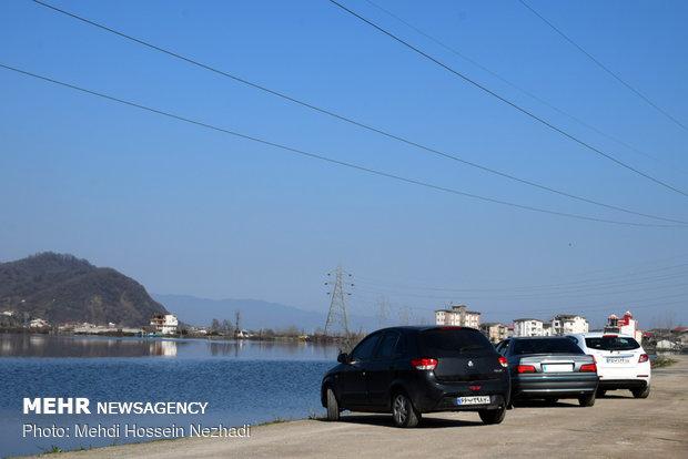 Heavy precipitation revives Gilan's Estil Lagoon