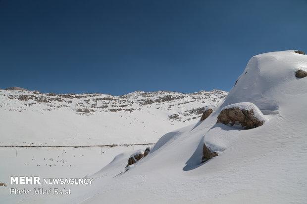 Ardakan under snow