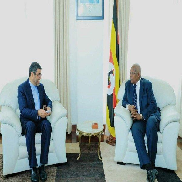 Uganda FM stresses expanding ties with Iran